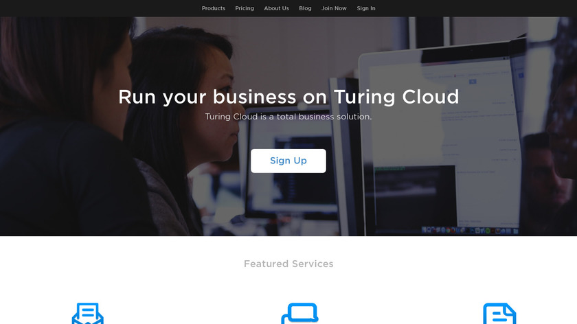 Turing Email Landing Page
