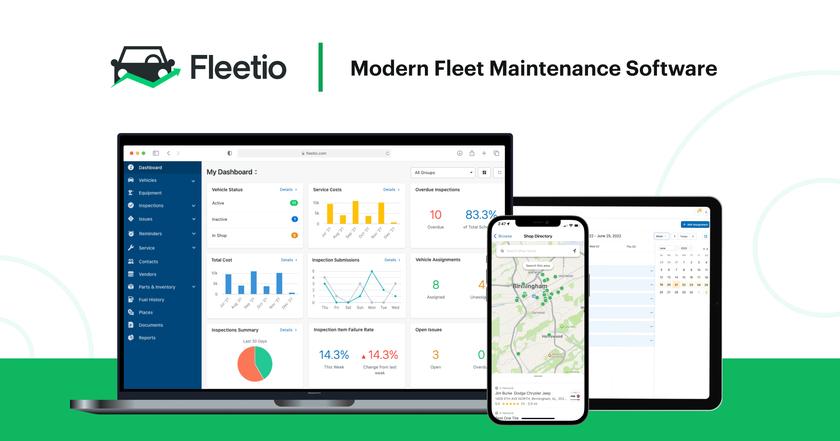 Fleetio Landing Page