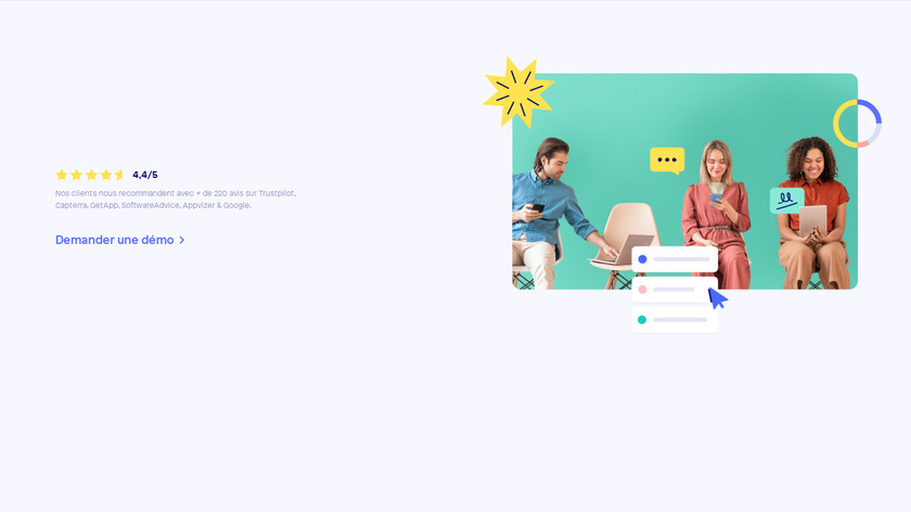 Sellsy CRM Landing Page
