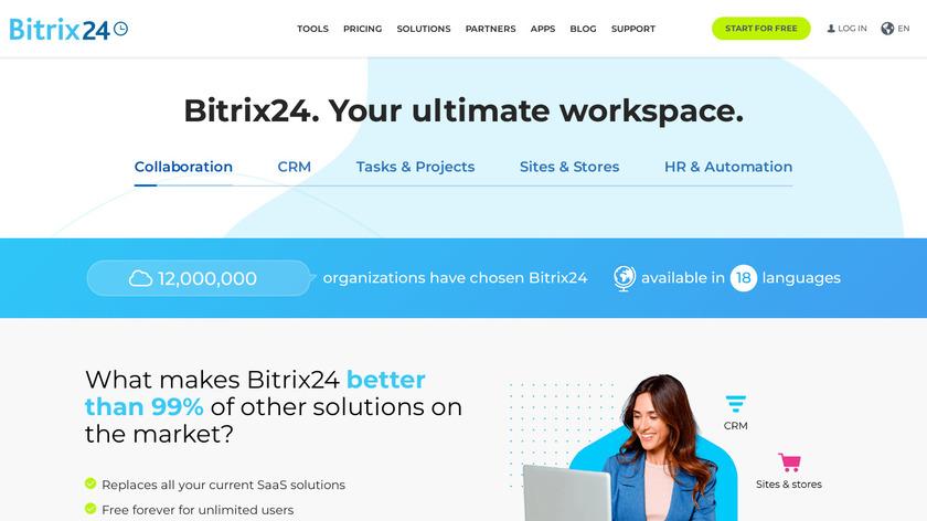 Bitrix24 Landing Page