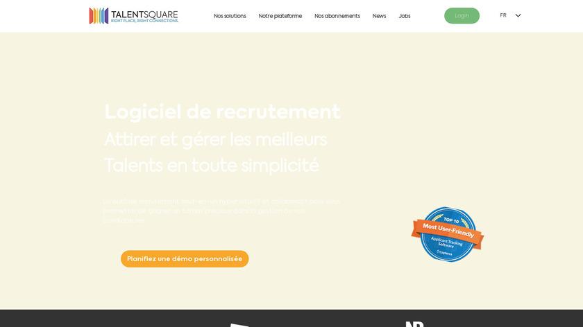 Talentsquare Landing Page