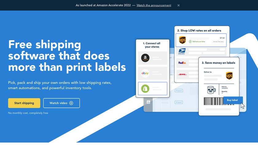 Veeqo Landing Page