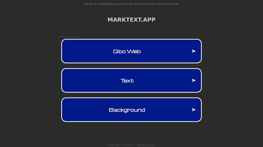 marktext.github.io Mark Text Landing Page