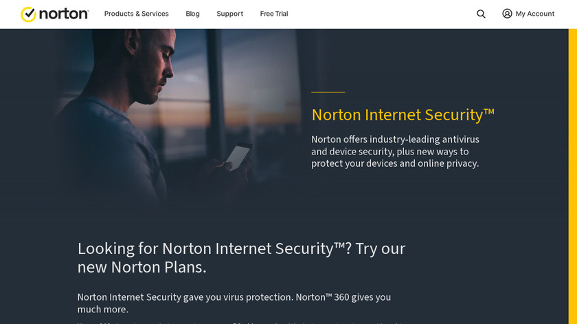 Norton Internet Security Landing Page