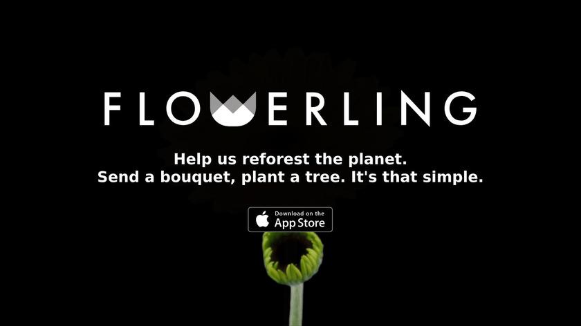 Flowerling Landing Page