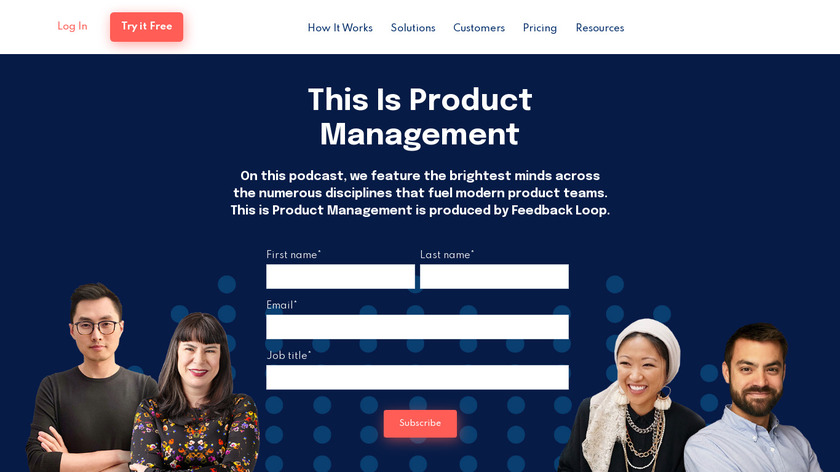 This is PM Podcast Landing Page