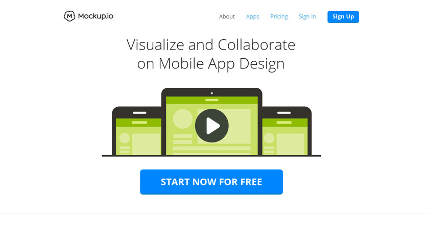 Mockup.io Landing Page