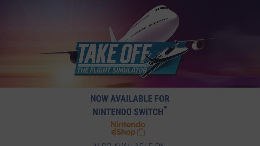 Take Off Landing Page