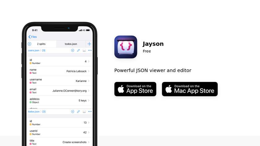 Jayson Landing Page