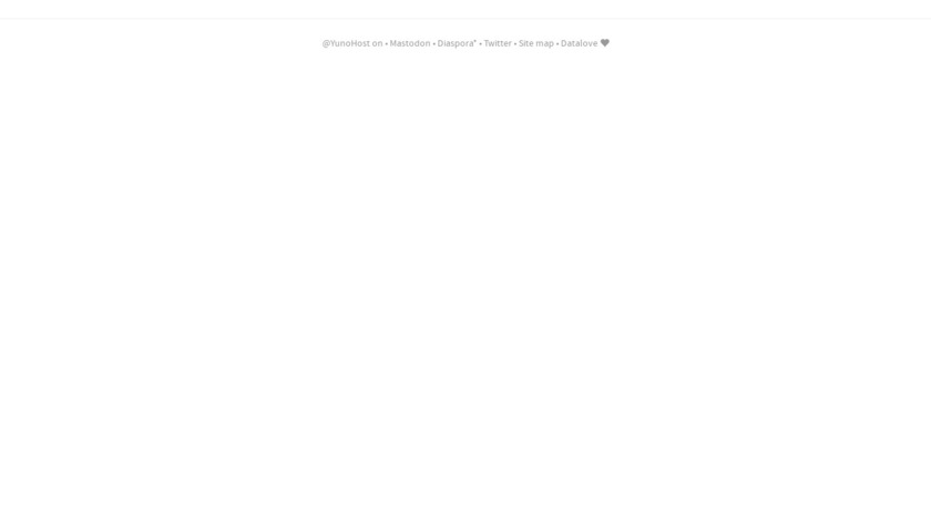 YunoHost Landing Page