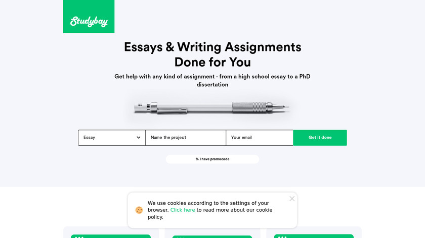 Codefield Landing Page