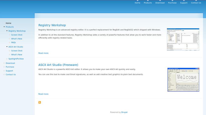 Registry Workshop Landing Page