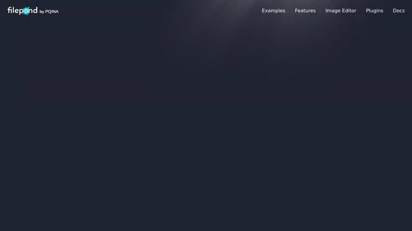 FilePond.js Landing Page