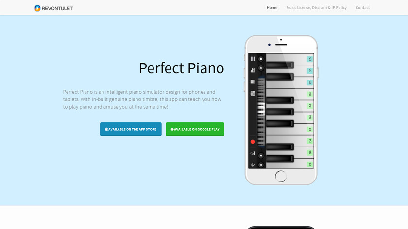 Perfect Piano Landing Page