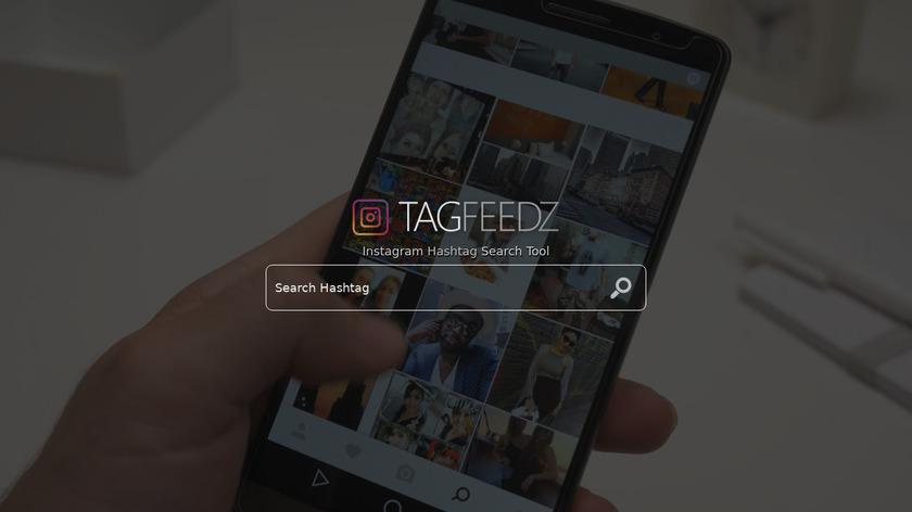 TagFeedz.com Landing Page
