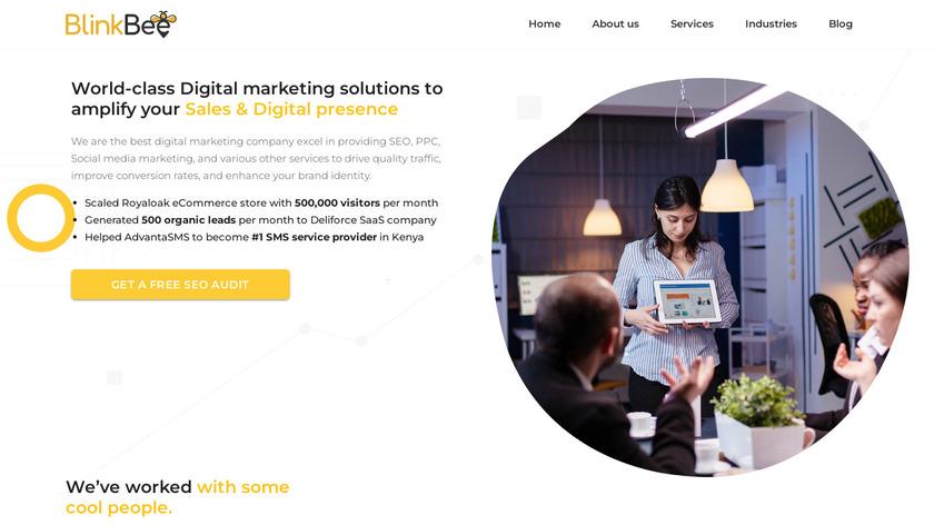 BlinkBee Landing Page