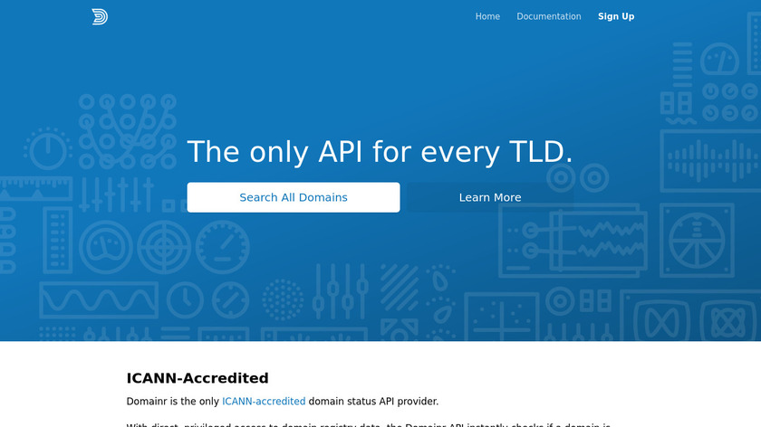 Domainr Landing Page