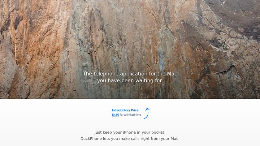 DockPhone Landing Page