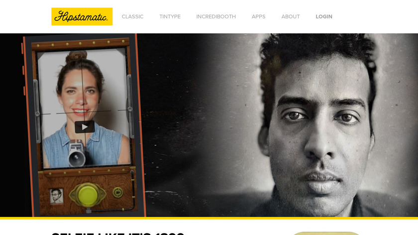 TinType by Hipstamatic Landing Page