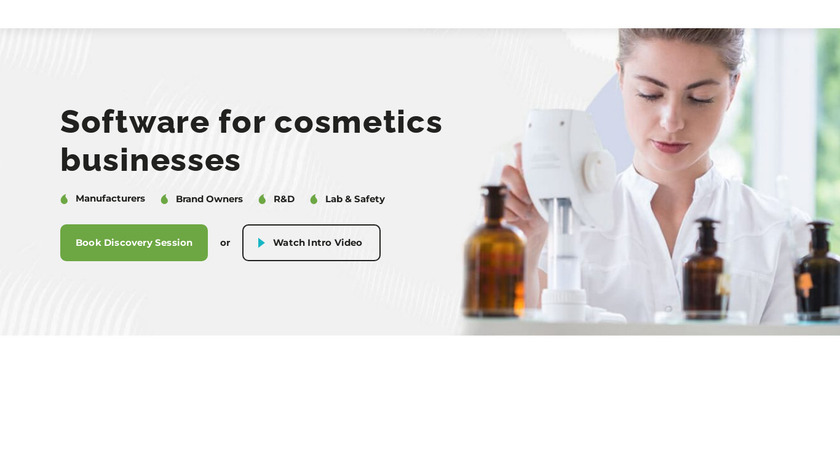 Cosmetri Landing Page