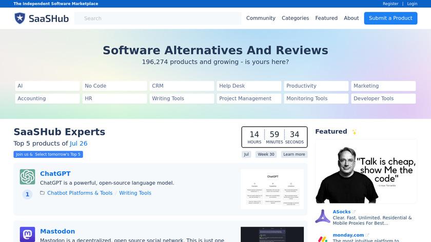 Away Away Landing Page