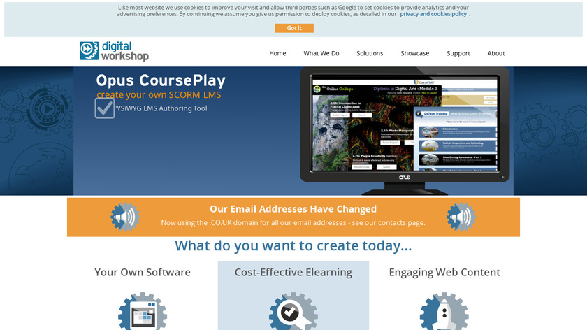 Opus Pro Landing Page