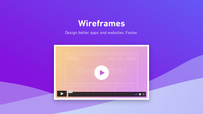 Whimsical Wireframes Landing Page