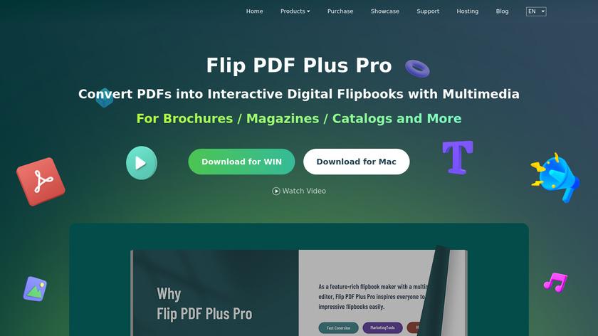 FlipBuilder Landing Page