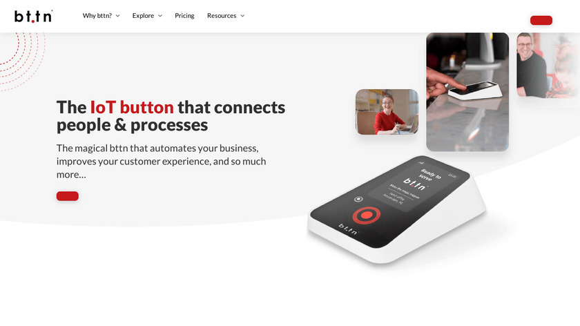 bttn Landing Page