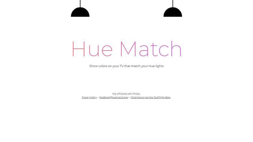 Hue Match Landing Page