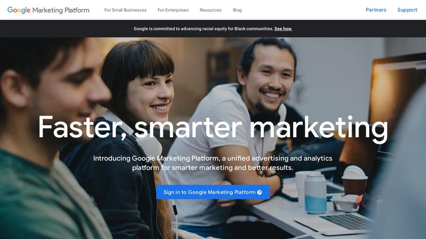 Google Marketing Platform Landing Page