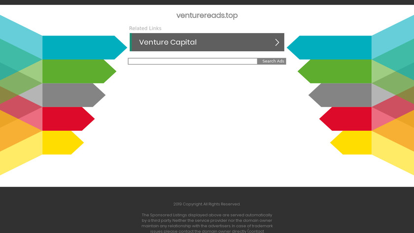 Venture Reads Landing Page