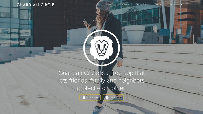 Guardian Circle Landing Page