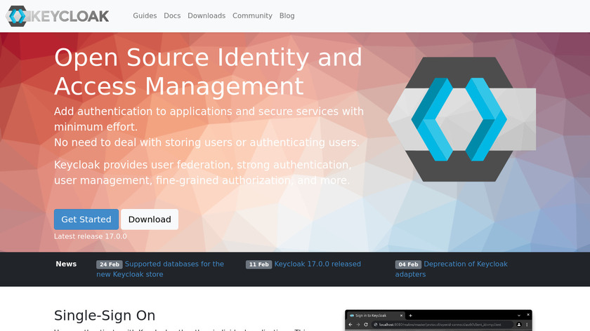 Keycloak Landing Page