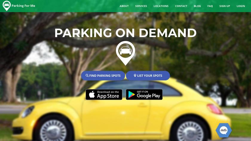 ParkingForMe Landing Page