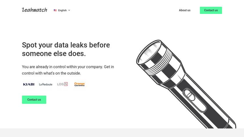 Leakwatch Landing Page