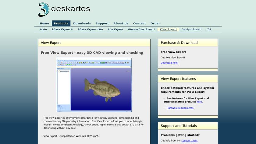 Free View Expert Landing Page