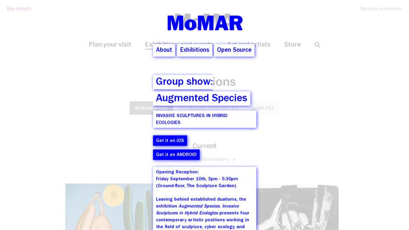 MoMAR Landing Page