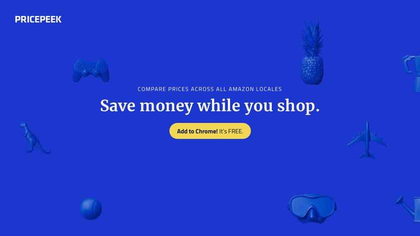 Pricepeek Landing Page