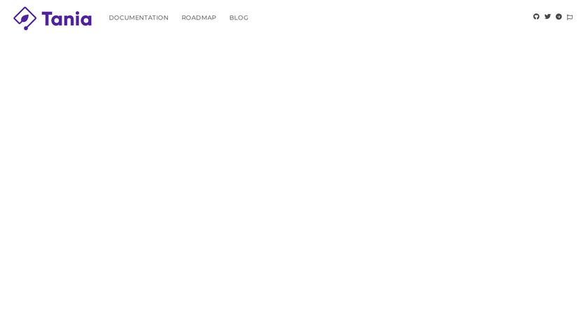Tania Landing Page