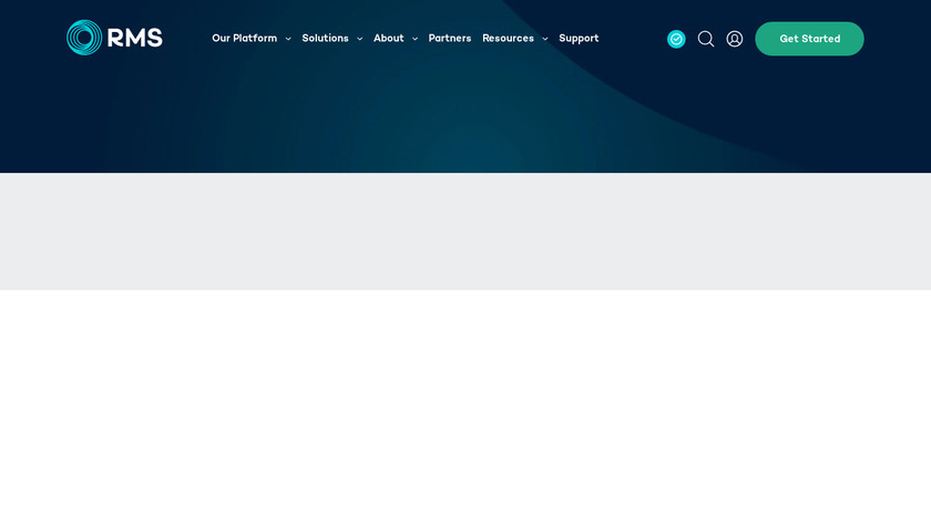 RMS Hotel Landing Page