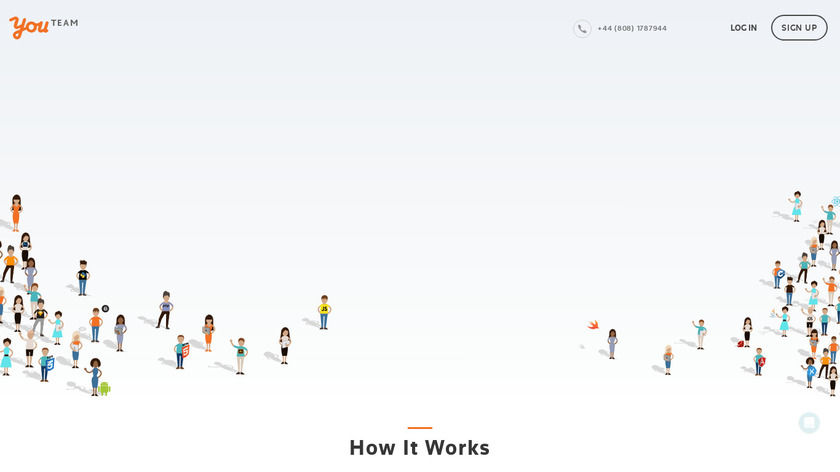 YouTeam Landing Page