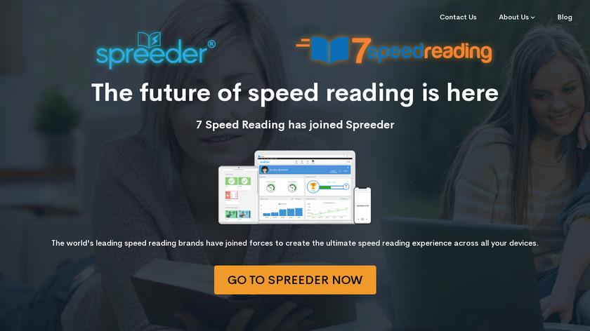 7 Speed Reading Landing Page