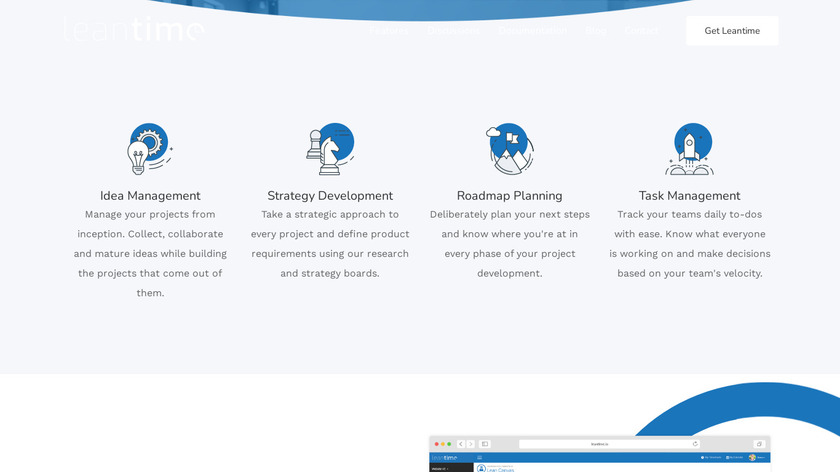 Leantime Landing Page