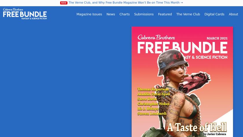 The Free Bundle Landing Page