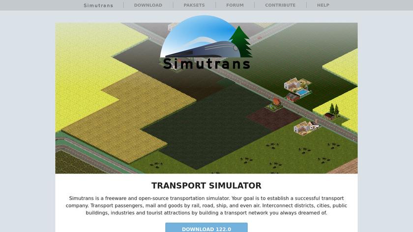 Simutrans Landing Page