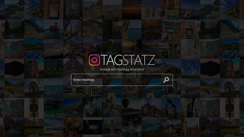 TagStatz.com Landing Page