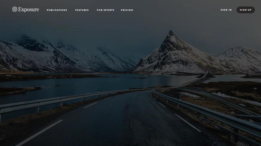 Exposure Landing Page