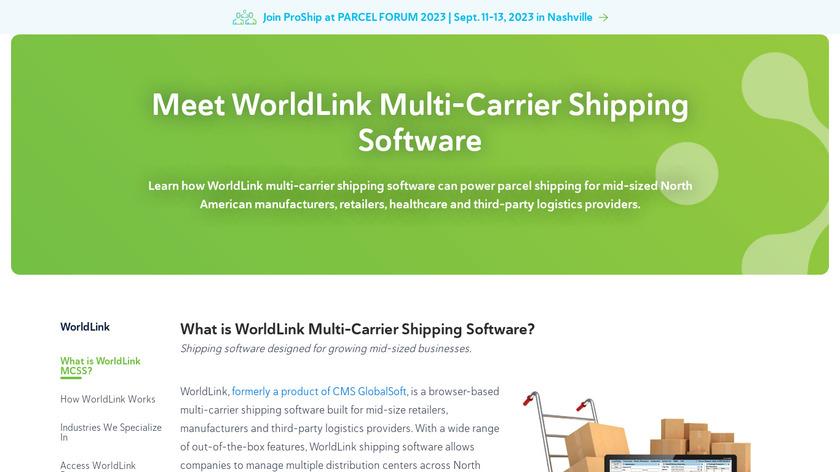 CMS WorldLink Landing Page