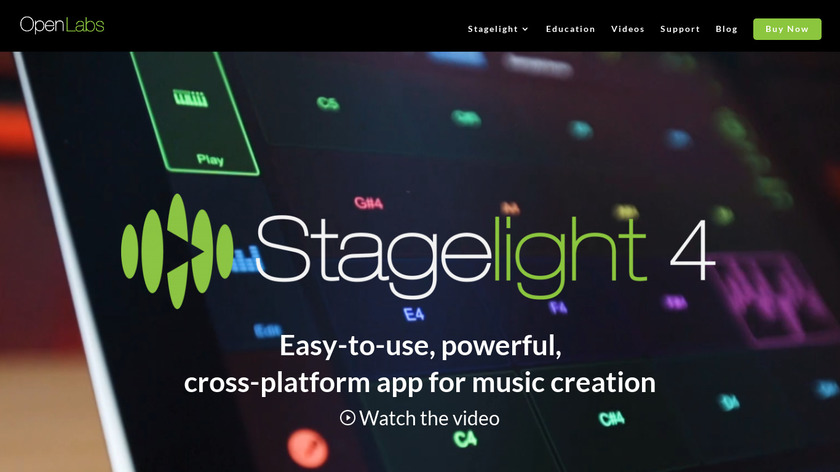 us.openlabs.com Stagelight Landing Page